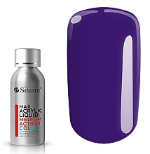 Kup Akrylowy liquid do paznokci - Silcare Nail Acrylic Liquid Medium Action Color