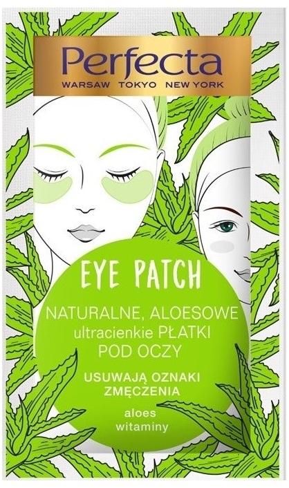 Płatki pod oczy przeciw oznakom zmęczenia - Perfecta Eye Patch Aloe & Vitamins