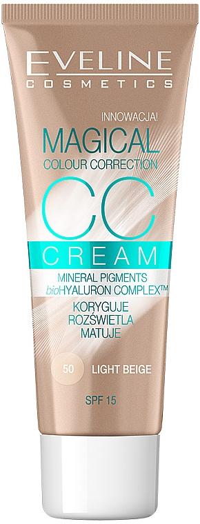 Multifunkcyjny podkład CC - Eveline Cosmetics Magical Colour Correction — фото N1