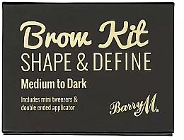 Kup Zestaw do makijażu brwi - Barry M Brow Kit