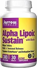 Kup Suplementy odżywcze - Jarrow Formulas Alpha Lipoic Sustain with Biotin 300 mg