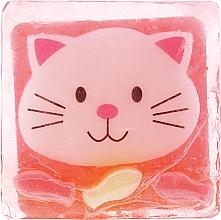 Kup Glicerynowe mydło o zapachu lodów poziomkowych Radosny kotek - Chlapu Chlap