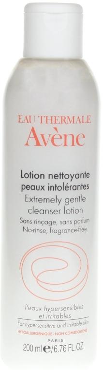 Oczyszczająca woda do twarzy dla skóry alergicznej - Avene Extremely Gentle Cleanser Lotion — фото N2