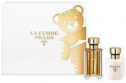Kup Prada La Femme Prada - Zestaw (edp 50 ml + b/lot 100 ml)