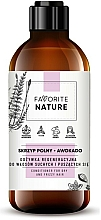 Kup Rewitalizująca odżywka do włosów suchych i kręconych Skrzyp i awokado - Favorite Nature