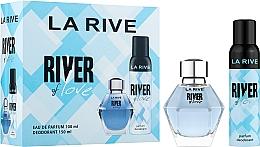 Kup La Rive River Of Love - Zestaw (edp 100 ml + deo 150 ml)