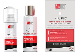Kup Zestaw - DS Laboratories Nia Fix Instant Bond And Cuticle Restructuring System (hair/foam/50ml+hair/mask/100ml)