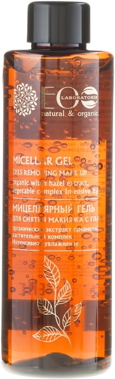 Żel micelarny do demakijażu oczu - ECO Laboratorie Micellar Gel