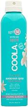 Kup Bezzapachowy przeciwsłoneczny spray do ciała - Coola SPORT Spray Spf 50 Unscented