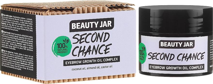 Olejek pobudzający wzrost brwi - Beauty Jar Second Chance Eyebrow Growth Oil Complex