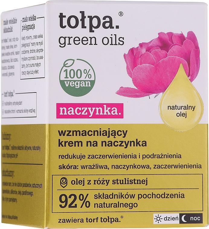 Wzmacniający krem na naczynka - Tołpa Green Oils Naczynka