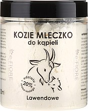 Kup Lawendowe kozie mleczko do kąpieli - E-Fiore