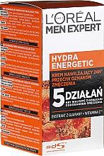 Kup Nawilżający krem przeciw oznakom zmęczenia - L'Oreal Paris Men Expert Hydra Energetic Anti-Fatigue Moisturiser