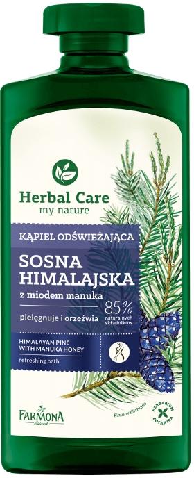Kąpiel odświeżająca Sosna himalajska z miodem manuka - Farmona Herbal Care