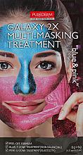 Kup Maseczka do twarzy peel-off - Purederm Galaxy Multi Masking Treatment Blue & Pink