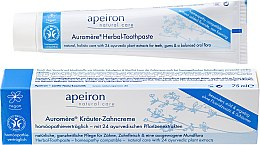 Kup Homeopatyczna pasta do zębów - Apeiron Herbal Toothpaste Homeopathic