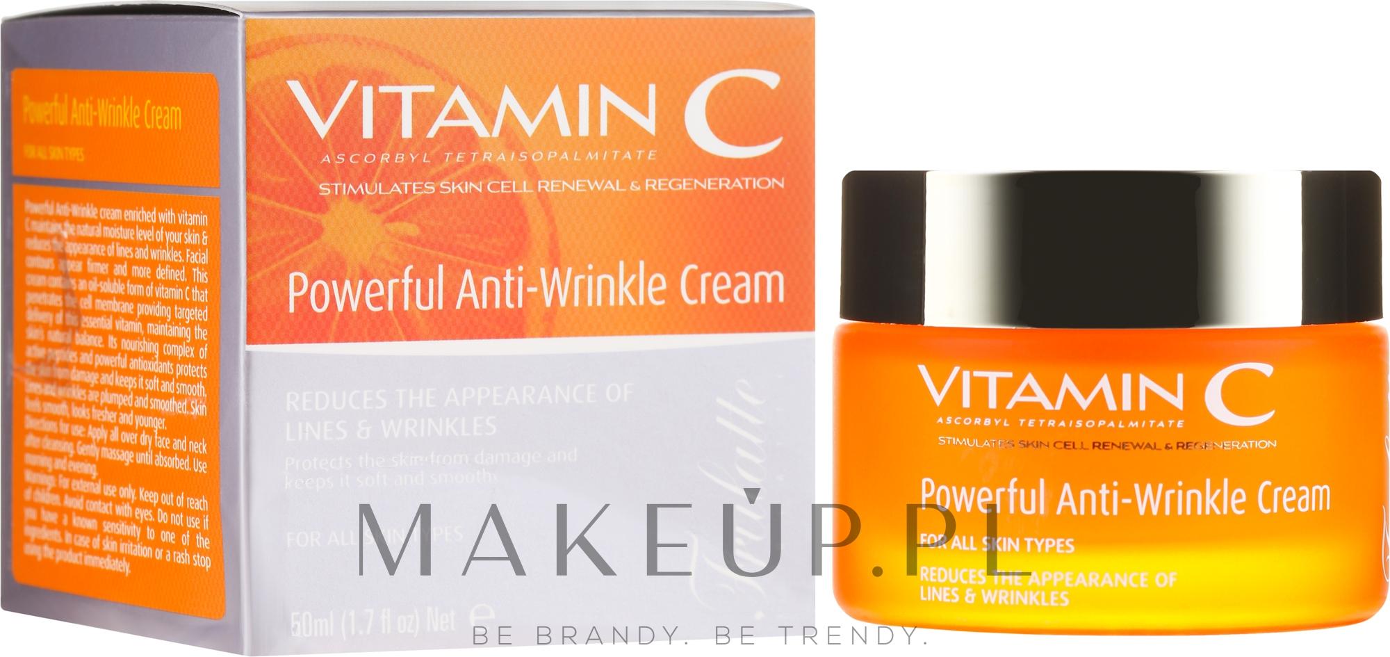 Przeciwzmarszczkowy krem do twarzy - Frulatte Vitamin C Powerful Anti Wrinkle Cream  — фото 50 ml