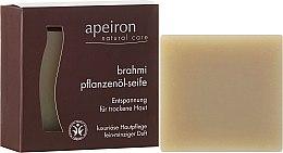 Kup Naturalne mydło brahmi do skóry suchej - Apeiron Brahmi Plant Oil Soap
