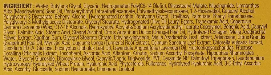 Krem do twarzy ze złotem - Missha Vita C Plus Spot Correcting & Firming Cream — фото N5