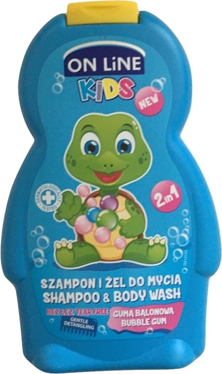 Szampon i żel do mycia dla dzieci Guma balonowa - On Line Kids