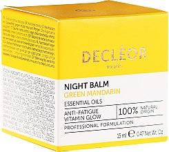 Kup Wygładzający krem do twarzy na noc - Decléor Green Mandarin Glow Night Balm