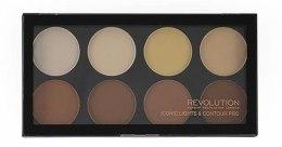 Kup Paleta do makijażu (8 odcieni) - Makeup Revolution Iconic Lights & Contour Pro
