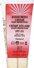 Kup Wodoodporny krem przeciwsłoneczny do twarzy SPF 50 - Vitacreme B12 Sunscreen Cream High Protection