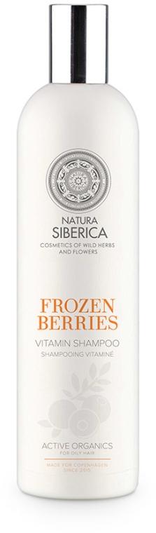 Witaminowy szampon do włosów Mrożone jagody Biała Syberia - Natura Siberica Sibérie Blanche Frozen Berries