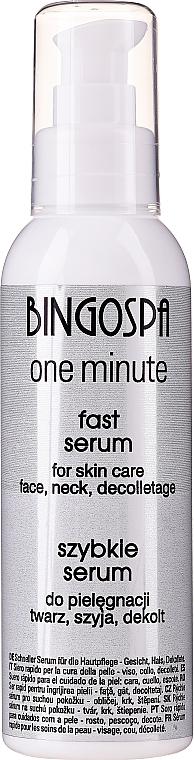 Wyciszające serum do suchej skóry twarzy, szyi i dekoltu - BingoSpa Silencing Serum — фото N1