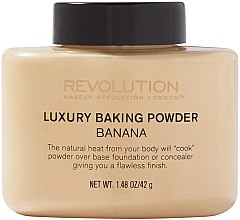 Kup Mineralny sypki puder bananowy - Makeup Revolution Luxury Baking Powder Banana