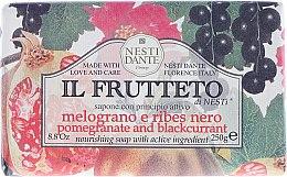 Kup Odżywcze mydło w kostce Granat i czarna porzeczka - Nesti Dante Il Frutteto