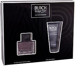 Kup Antonio Banderas Seduction in Black - Zestaw (edt 50 ml + ash/balm 50 ml)