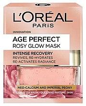 Kup Rozświetlająca maska do twarzy - L'Oreal Paris Age Perfect Rosy Glow Mask