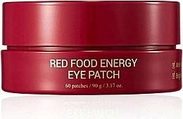 Energetyzujące płatki liftingujące pod oczy - Yadah Red Food Energy Eye Patch — фото N1
