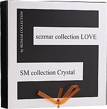 Kup Zestaw - Sezmar Collection Love Crystal (sh/gel/250ml + massage/oil/100ml + b/lot/200ml)