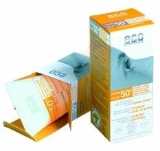 Kup Przeciwsłoneczny krem SPF 50+ z wyciągiem z granatu i rokitnika - Eco Cosmetics Suntan Cream SPF 50+