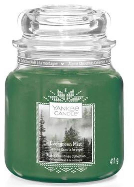 Świeca zapachowa w słoiku - Yankee Candle Evergreen Mist Alpine Christmas Collection — фото N2