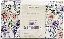 Kup Mydło w kostce - IDC Institute Soothing Hand Natural Soap Rose & Lavender