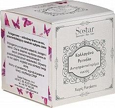 Kup Kolagenowy krem do twarzy przeciw starzeniu się skóry na noc - Sostar Focus Collagen Retinol Anti-Wrinkle Night Cream