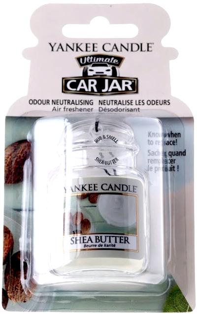 Zapach do samochodu - Yankee Candle Car Jar Ultimate Shea Butter — фото N1