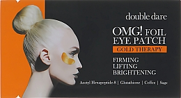 Kup Ujędrniające płatki liftingujące pod oczy - Double Dare Omg! Foil Eye Patch Gold Therapy
