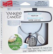 Zapach do samochodu - Yankee Candle Charming Scents Linear Refillable Locket Clean Cotton — фото N1