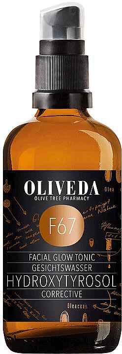 Rozświetlający tonik do twarzy - Oliveda F67 Facial Toner Hydroxytyrosol Corrective — фото N1