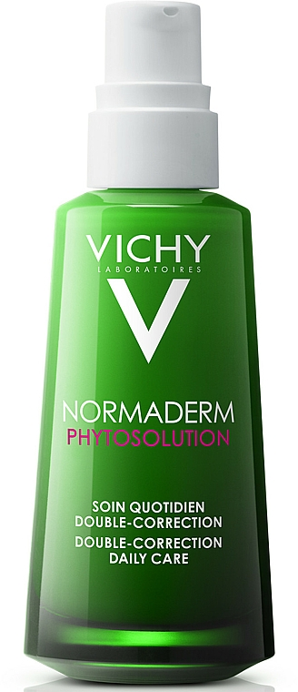 Korygująca pielęgnacja o podwójnym działaniu przeciw niedoskonałościom - Vichy Normaderm Phytosolution Double-Correction Daily Care