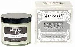 Kup Naturalna świeca sojowa Truskawka i wanilia - Eco Life Candles