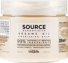 Odżywczy balsam do włosów z olejem sezamowym - L'Oreal Professionnel Source Essentielle Nourishing Balm — фото N1