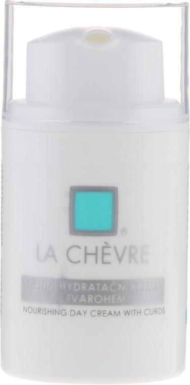 Krem do twarzy na dzień na bazie zsiadłego mleka - La Chévre Épiderme Moisturizing Day Cream With Curd — фото N1