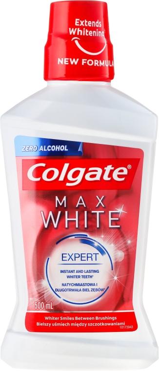 Wybielający płyn do płukania jamy ustnej - Colgate Max White — фото N1