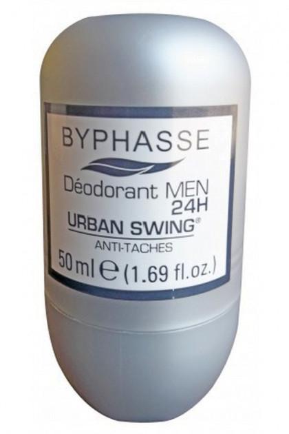 Dezodorant w kulce dla mężczyzn - Byphasse 24h Men Deodorant Urban Swing