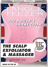 Kup Złuszczająca szczotka do skóry głowy - Tangle Teezer The Scalp Exfoliator & Massager Pretty Pink